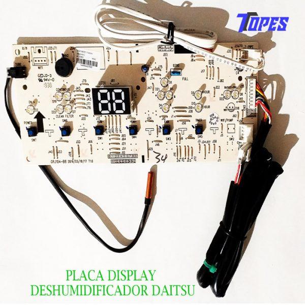 PLACA DISPLAY DESHUMIDIFICADOR DAITSU