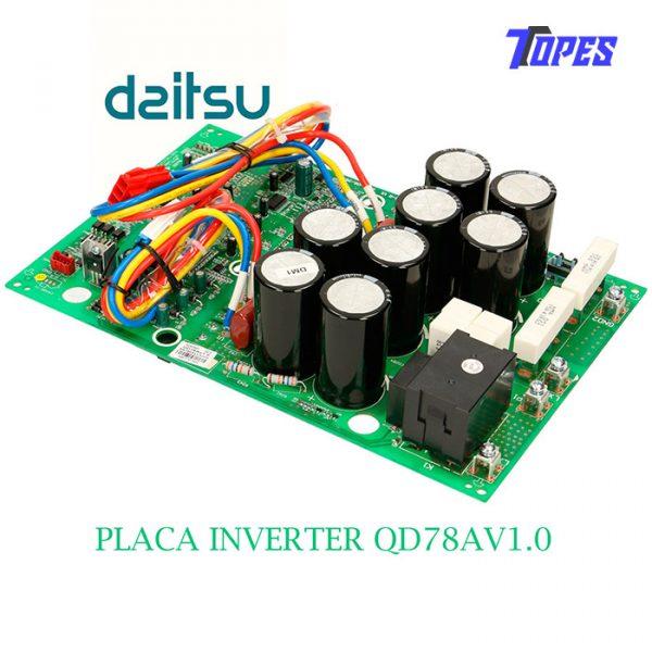 PLACA INVERTER QD78AV1.0
