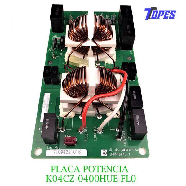 PLACA POTENCIA K04CZ-0400HUE-FL0