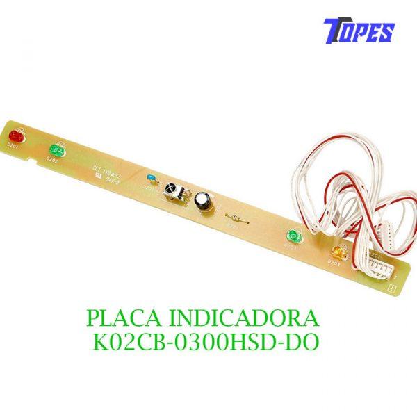 PLACA INDICADORA K02CB-0300HSD-DO