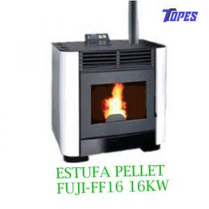 ESTUFA PELLET FUJI-FF16 16KW