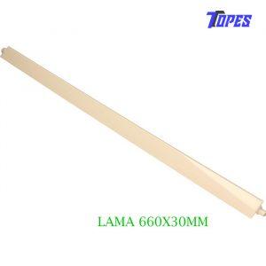 LAMA UNIDAD INTERIOR 660X30mm