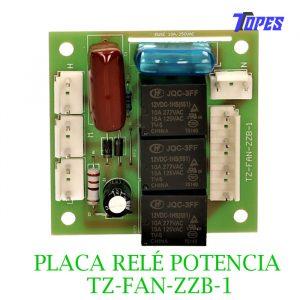 PLACA RELÉ POTENCIA TZ-FAN-ZZB-1